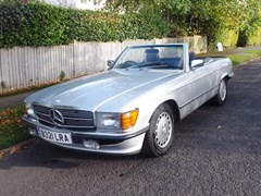 Navigate to Lot 323 - 1984 12987 380SL