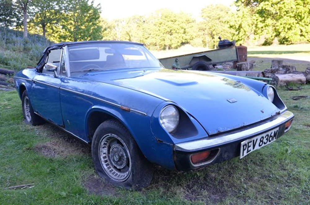 Lot 194 - 1973 Jensen Healey Mk. I Restoration