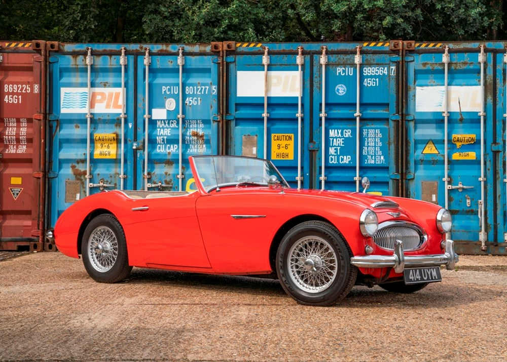 Lot 214 - 1962 Austin-Healey 3000 Mk. II BT7