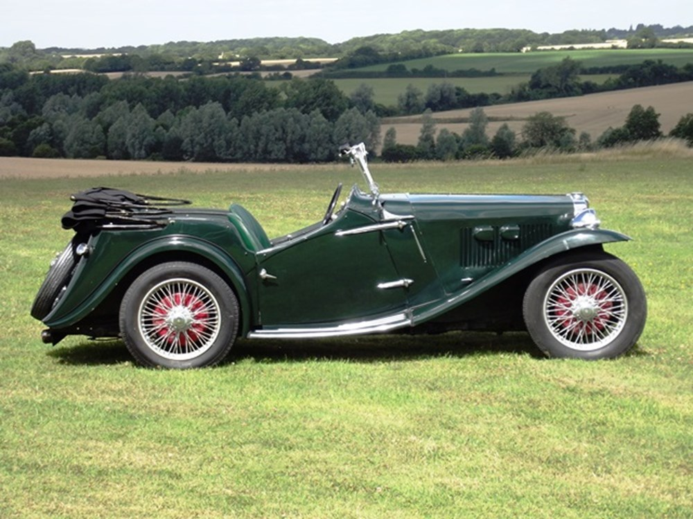 Lot 257 - 1936 MG NB Magnette