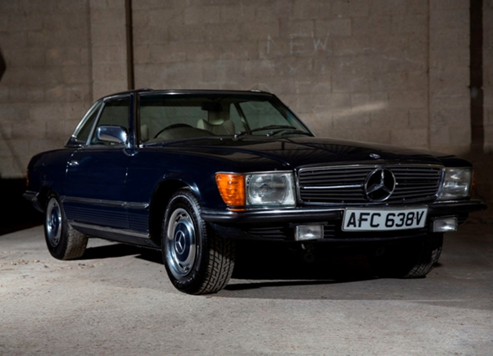 Lot 112 - 1979 Mercedes-Benz 350 SL Roadster