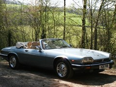 Navigate to Lot 270 - 1991 Jaguar XJS Convertible