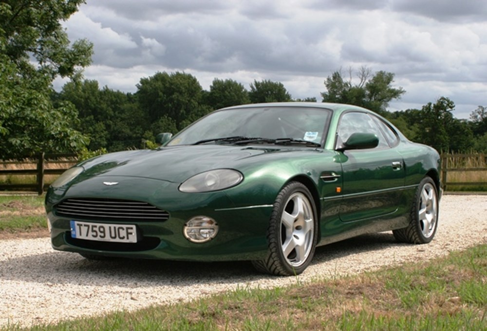 Lot 235 - 1999 Aston Martin DB7 Vantage Coupé