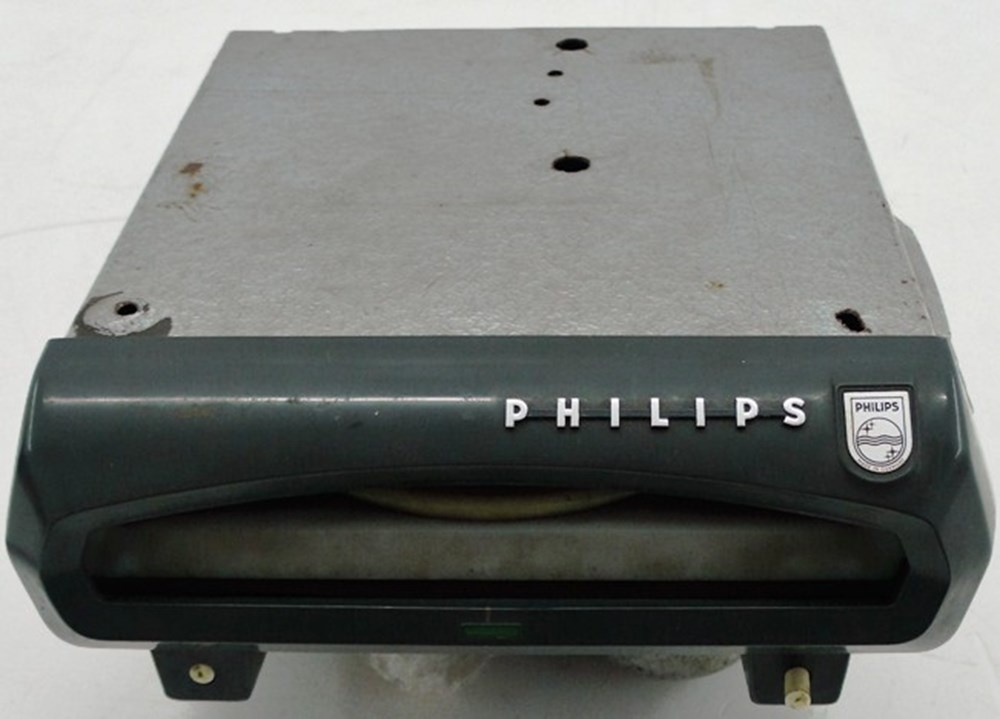 Lot 25 - Phillips car record player.