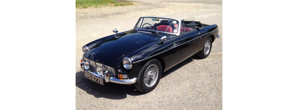 Lot 147 - 1964 MG B Roadster
