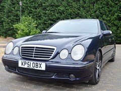 Navigate to Lot 345 - 2001 Mercedes-Benz E55 AMG