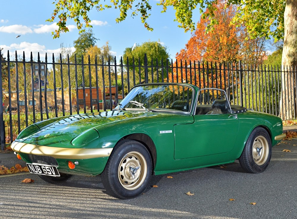 Lot 310 - 1967 Lotus Elan S3 Drophead Coupé