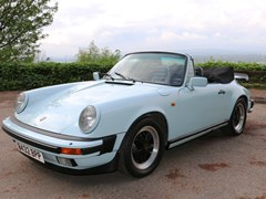 Navigate to Lot 290 - 1984 Porsche 911 Carrera Sport Convertible