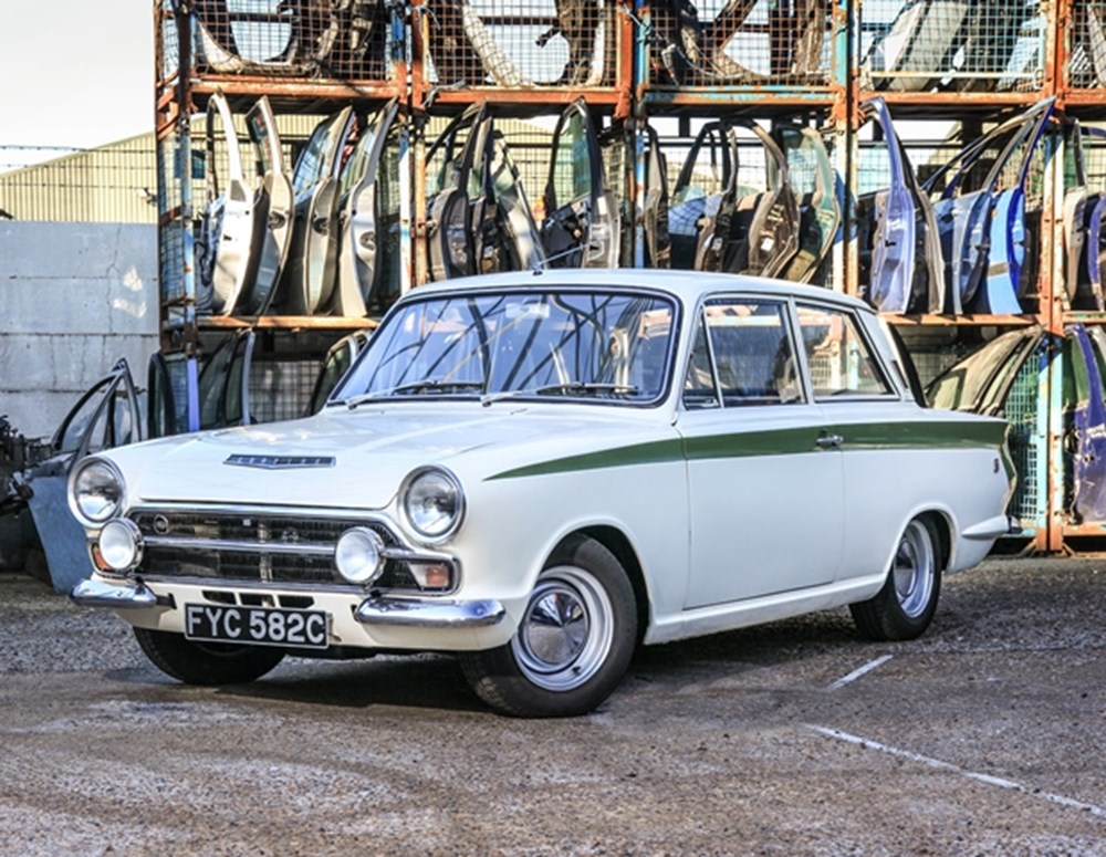 Lot 211 - 1965 Ford Cortina Mk. I 1500 GT