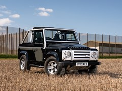 Navigate to Lot 193 - 2009 Land Rover Defender SVX 60th Anniversary Limited Edition