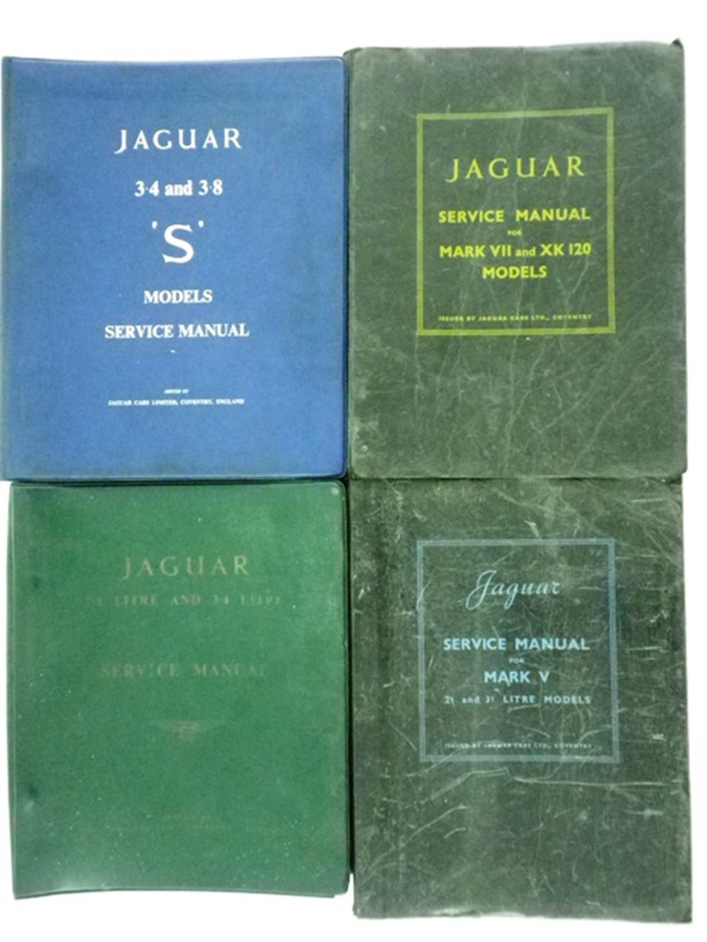 Lot 017 - Four Vehicle Service and Instruction Books