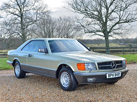 Ref 43 1983 Mercedes Benz 380 SEC Coupe