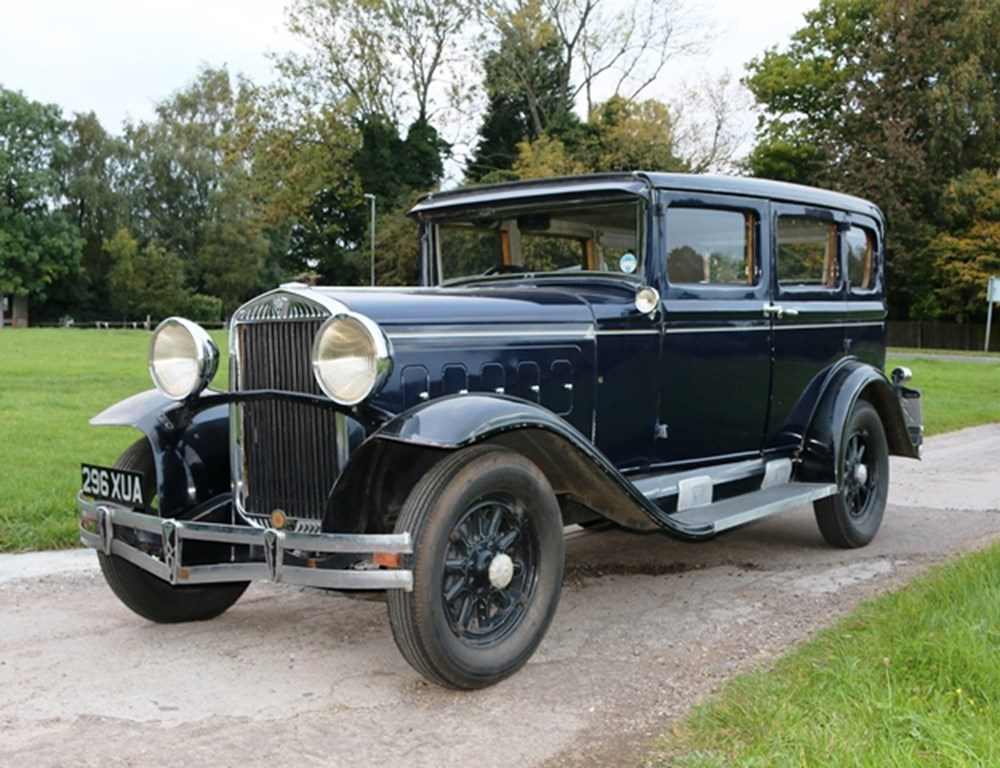 Lot 228 - 1930 Hudson Super Eight Saloon by Johnson & Smith