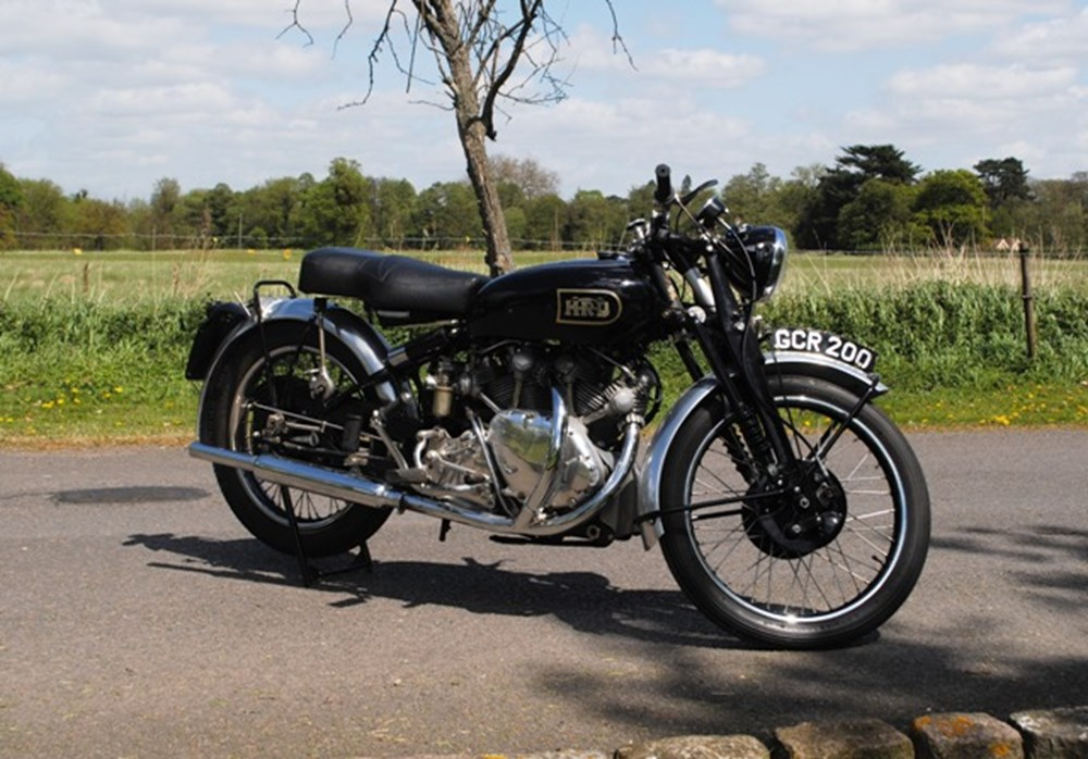 Lot 253 - 1949 Vincent HRD Rapide to Lightning Specification