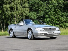 Navigate to Lot 277 - 1998 Mercedes-Benz SL 320 Roadster