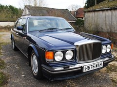 Navigate to Lot 304 - 1991 Bentley Mulsanne S
