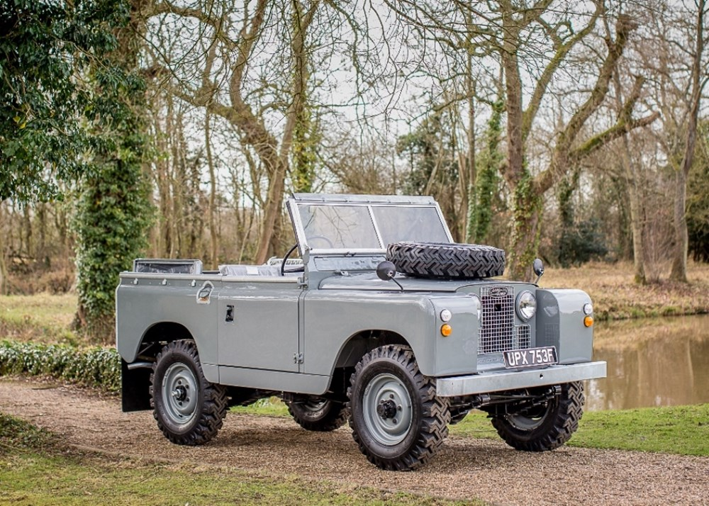 "Lot 272 - 1968 Land Rover Series IIA (88"")"