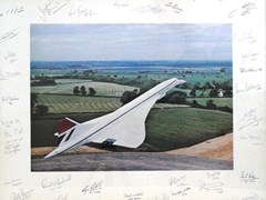 Navigate to Concorde in flight