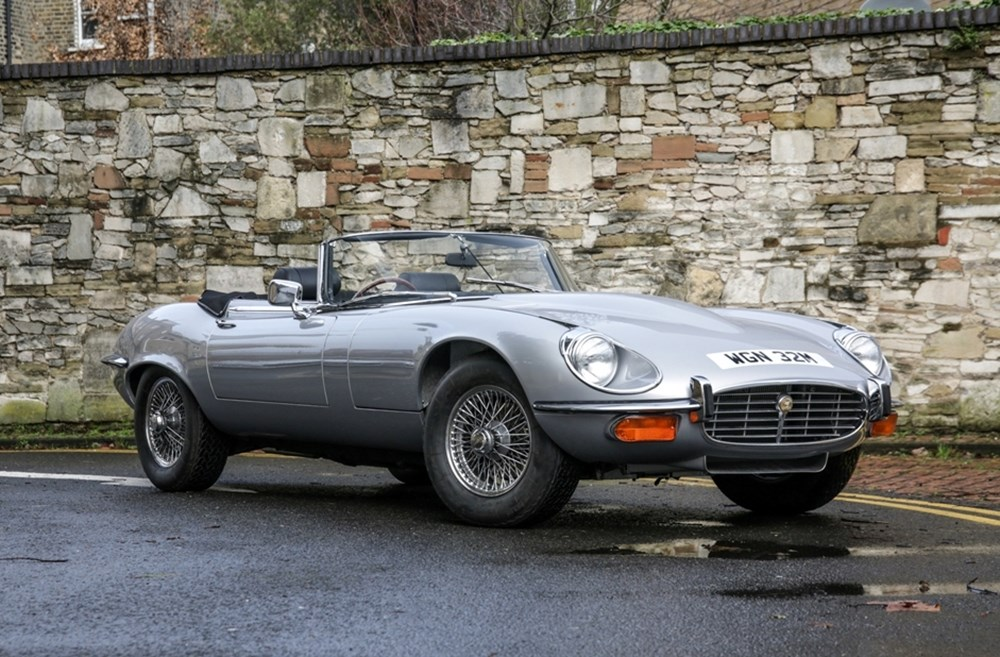 Lot 259 - 1974 Jaguar E-Type Series III Roadster