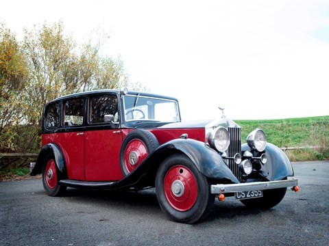 Ref 91 1935 Rolls-Royce 20/25 by Hooper JG