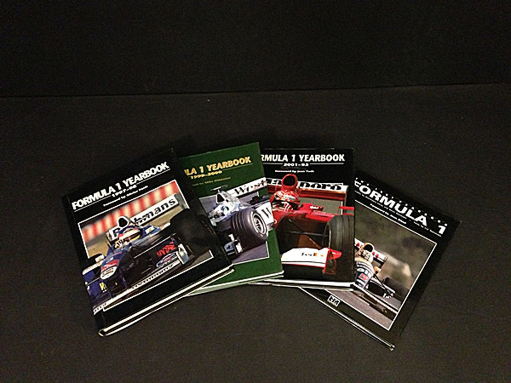 Lot 047 - Four Formula 1 yearbooks