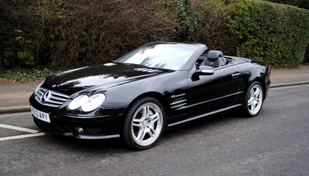 2003 mercedes benz sl55 amg classic sports car auctioneers. Black Bedroom Furniture Sets. Home Design Ideas
