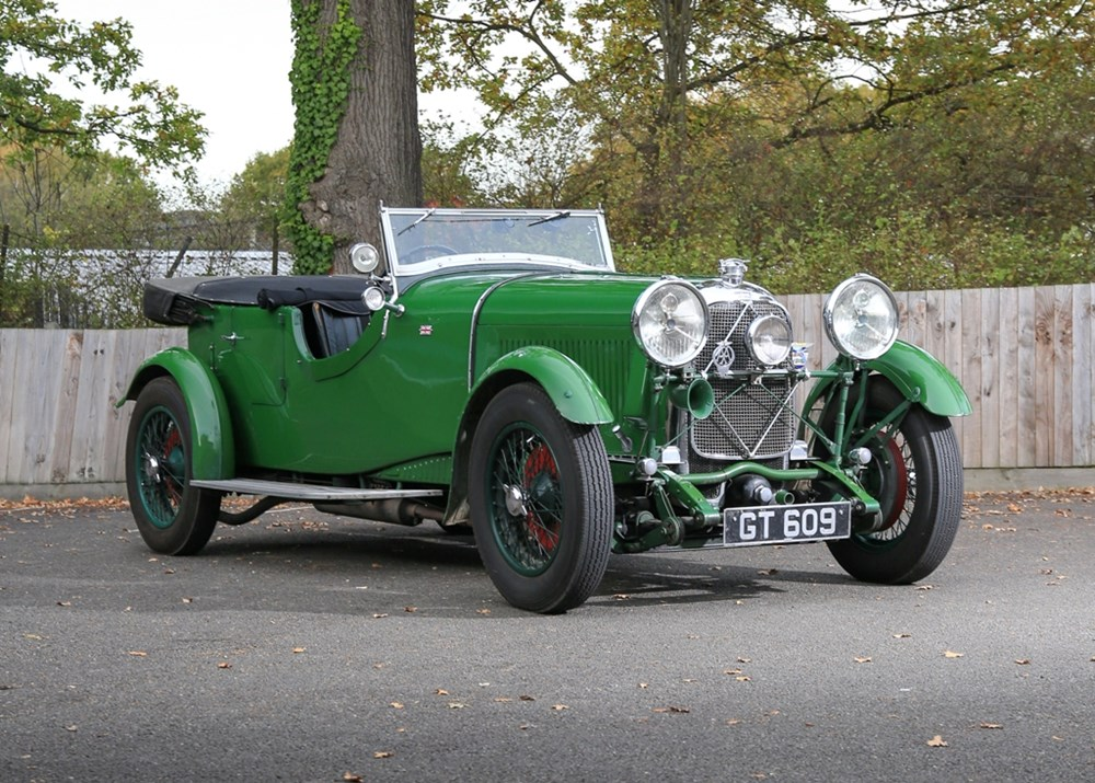 Lot 291 - 1931 Lagonda Low Chassis Open Tourer (Two-litre, Supercharged)