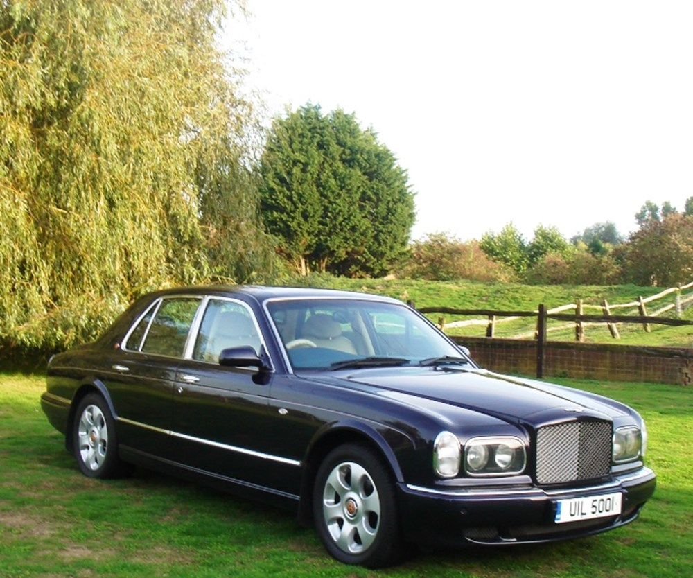 2001 bentley arnage classic sports car auctioneers lot 25 2001 bentley arnage red label vanachro Choice Image
