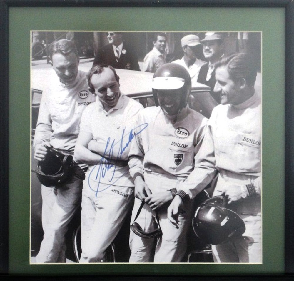 Lot 24 - A signed John Surtees print.