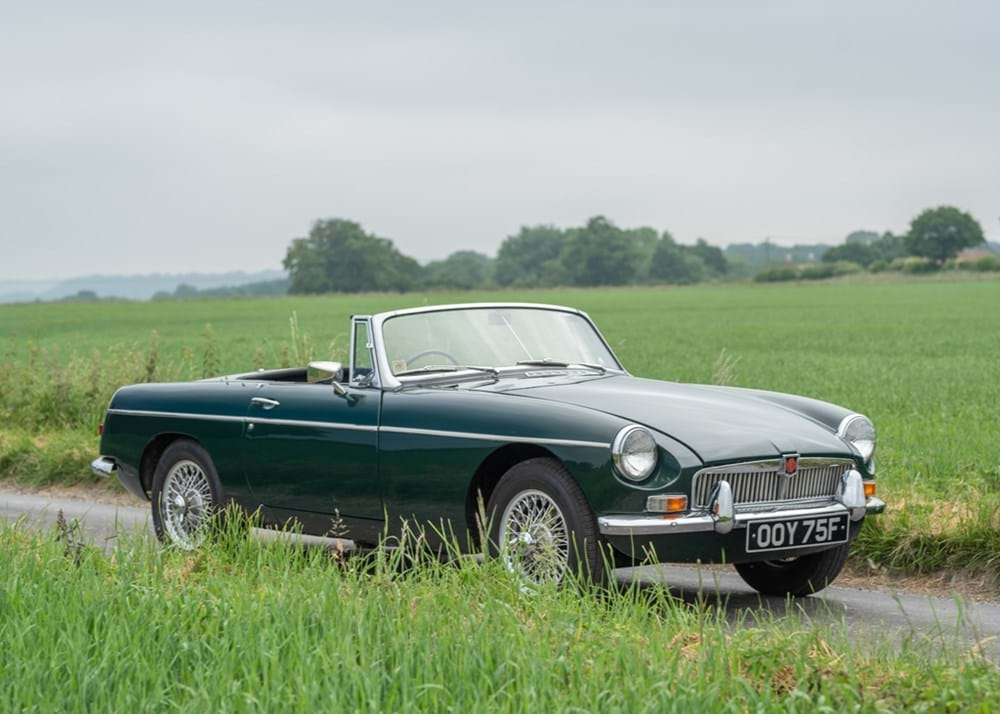 Lot 255 - 1967 MG B Roadster