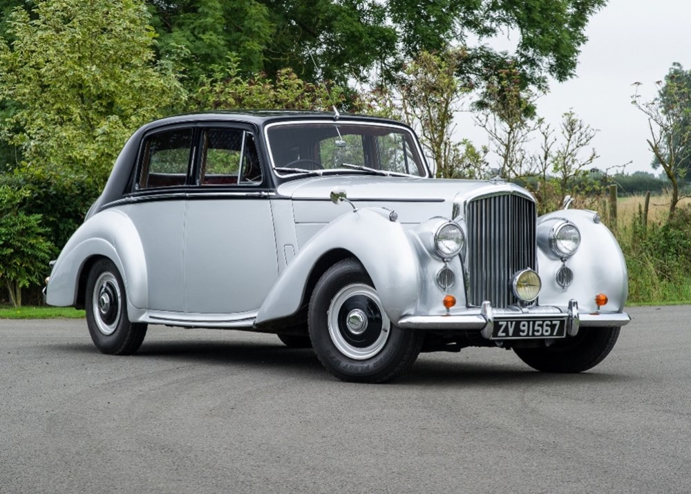 Lot 145 - 1954 Bentley R-Type Saloon (Standard steel)