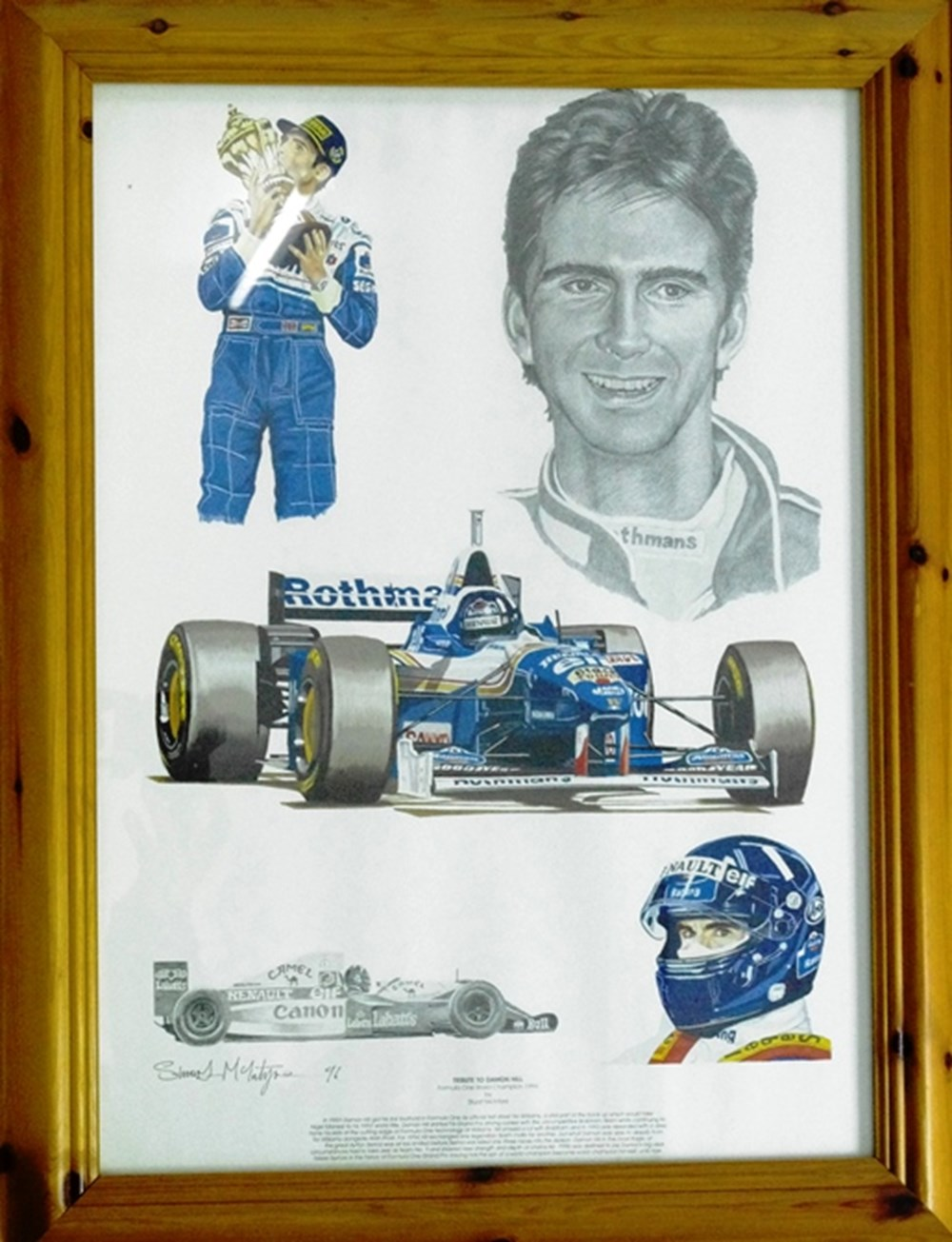 Lot 99 - Damon Hill