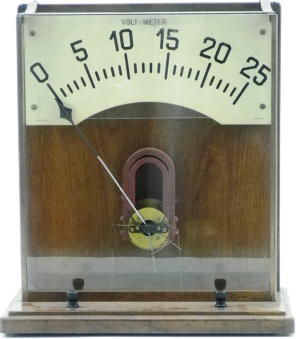 Lot 5 - An industrial Volt Meter