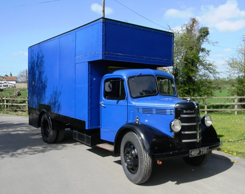 Lot 409 - 1951 Bedford O Type Box Lorry