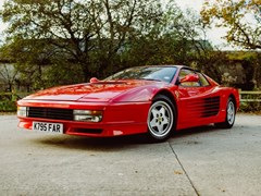 Navigate to Lot 189 - 1993 Ferrari Testarossa