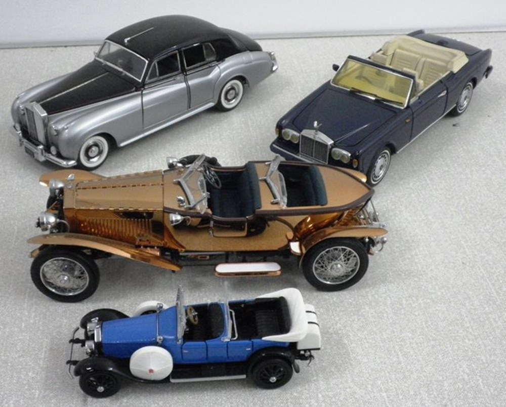 Lot 30 - Rolls-Royce models