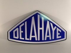 Navigate to Delahay wall plaque