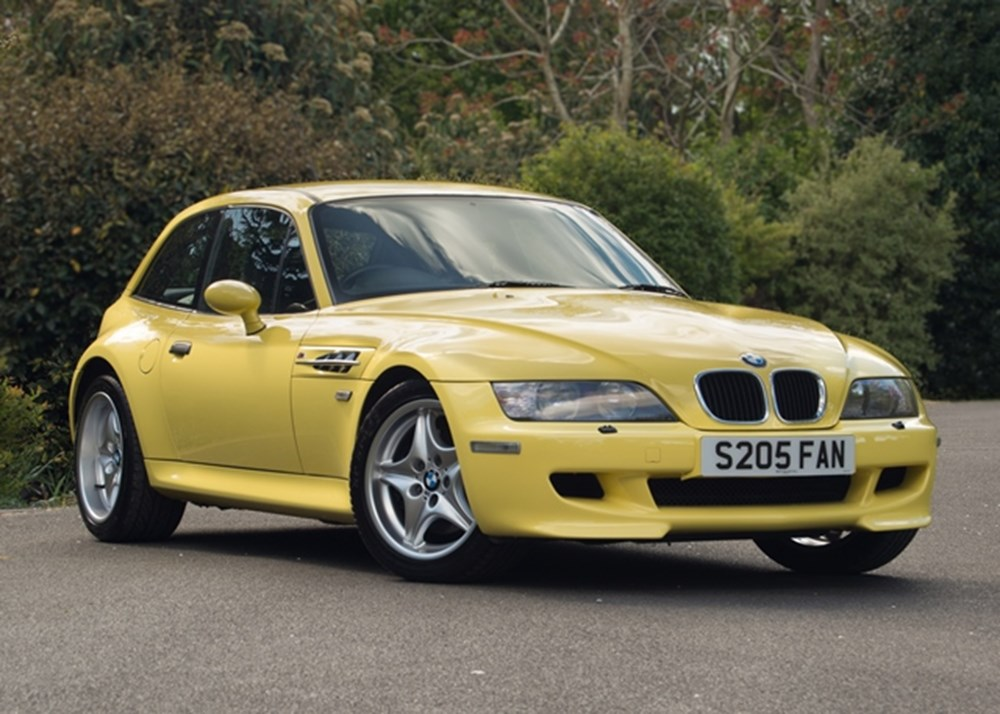 Ref 145 1999 Bmw Z3m Coupe Classic Amp Sports Car Auctioneers
