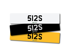 Navigate to Lot 199 -   Number Plate 512 S