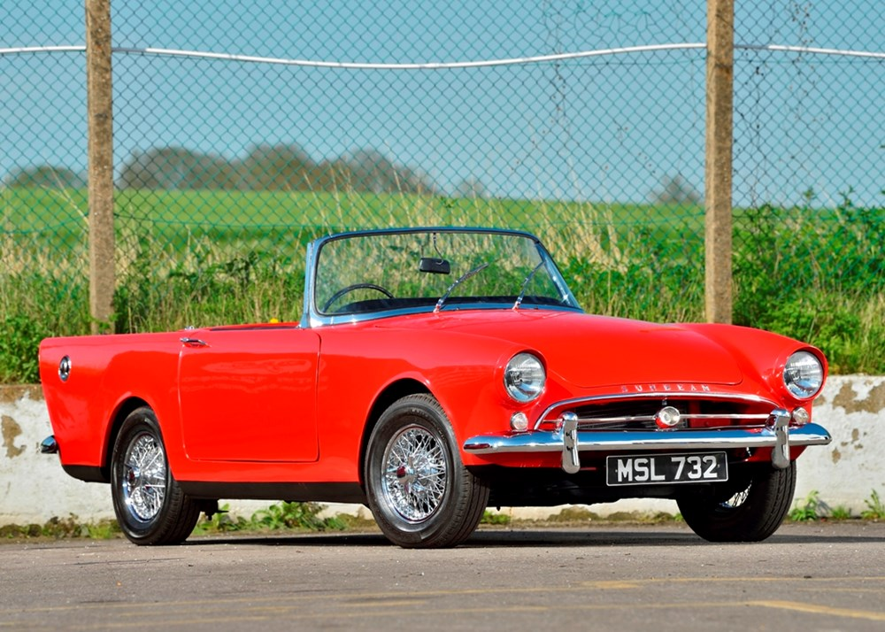Lot 121 - 1961 Sunbeam Alpine Series II