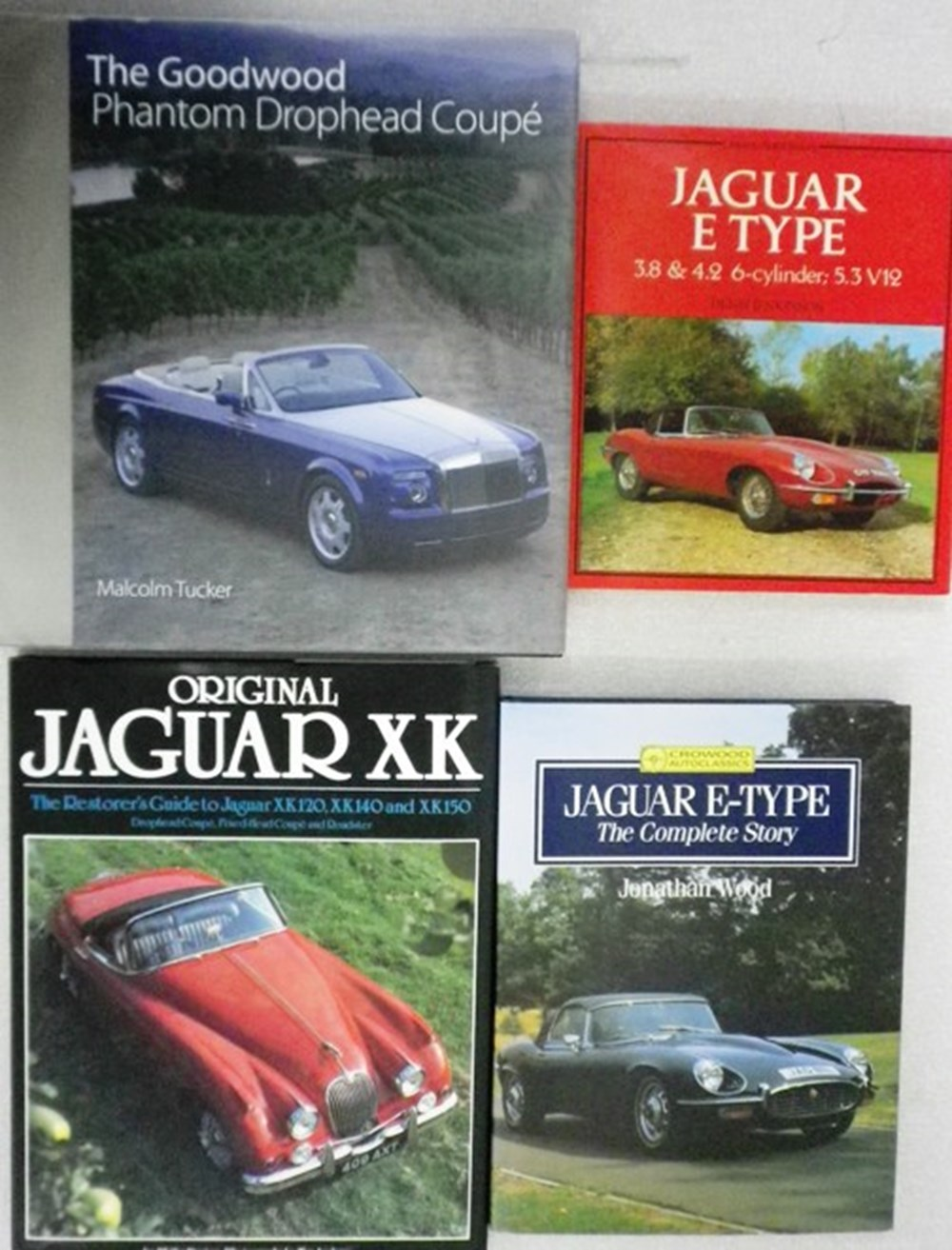 Lot 80 - Four motoring books including.