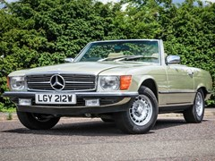 Navigate to Lot 340 - 1980 Mercedes-Benz 380 SL