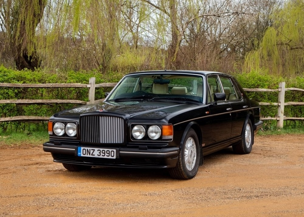 Bentley Turbo R >> Ref 8 1994 Bentley Turbo R Classic Sports Car Auctioneers