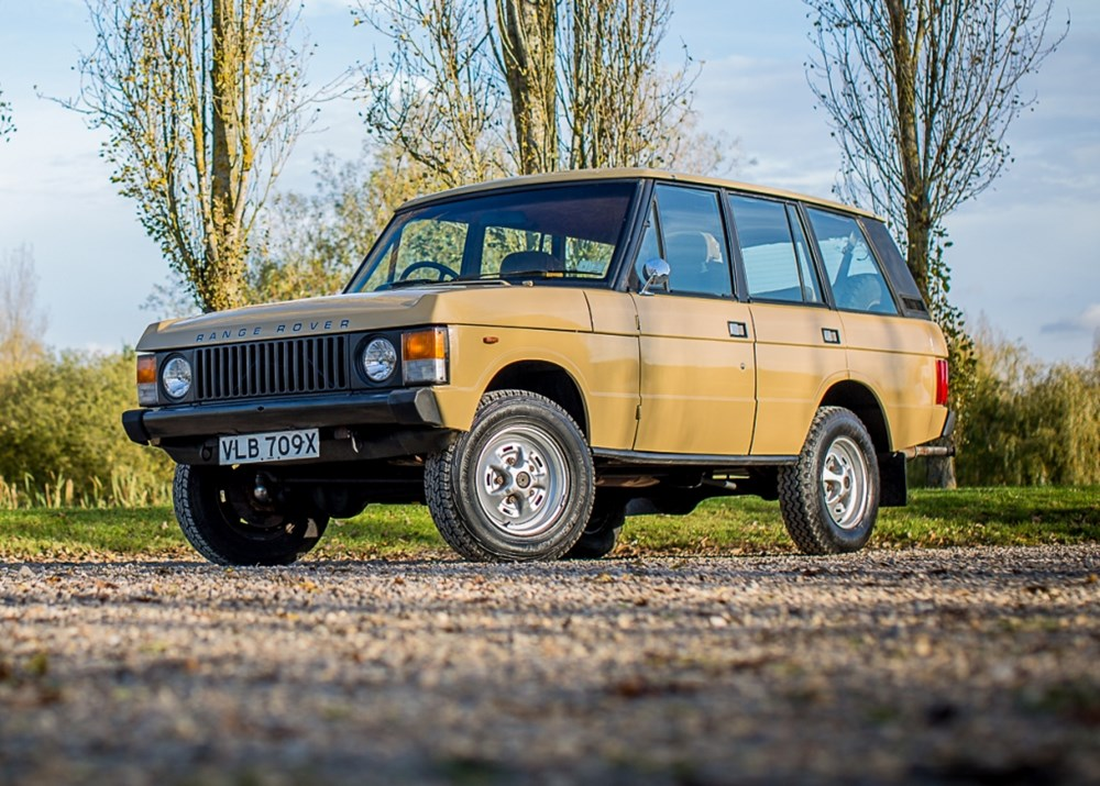 Lot 297 - 1981 Land Rover Classic (four door)  *WITHDRAWN*