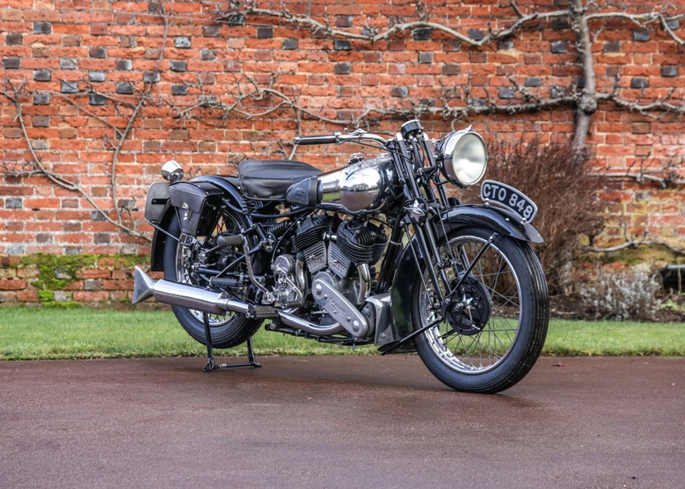 Lot 186 - 1936 Brough Superior SS80