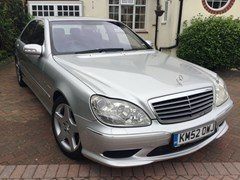 Navigate to Lot 206 - 2002 Mercedes-Benz S55 AMG Kompressor (long wheelbase)