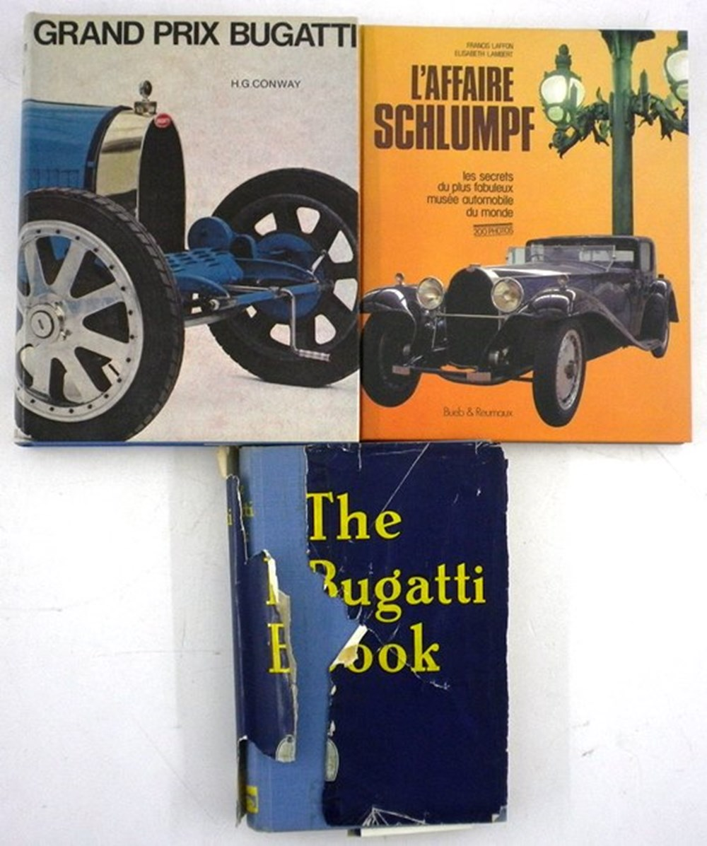 Lot 095 - Three Bugatti Books