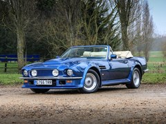 Navigate to Lot 258 - 1989 Aston Martin V8 Vantage Volante X-Pack Convertible
