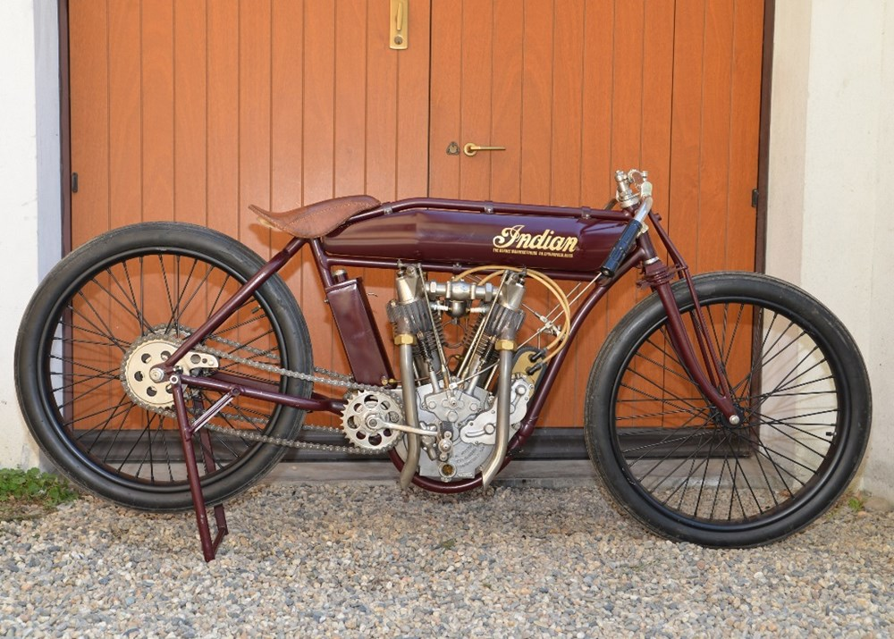 Lot 106 -  Indian Boardtrack Racer (recreation)