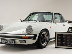 Navigate to Lot 205 - 1988 Porsche 911 Carrera Sport Targa